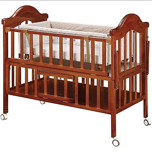 Wooden Cot Bed Convenience Goods Baby