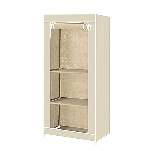 Canvas Storage Boxes For Wardrobes: Buy Generic Single-Fabric-Canvas-Clothes-Storage-Organizer