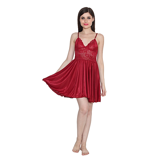 f9ba9f43f9 ... Freely Transparent full nighty with Robe - TRPFN-11 detailed look 18250  80e11  Transparent Night Dress For Women Lounge Wear - Dark Red san  francisco ...
