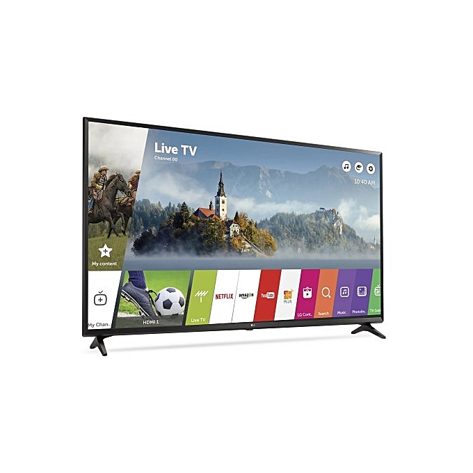 buy lg electronics 43 lg smart tv youtube netflix wi fi connect best price online jumia. Black Bedroom Furniture Sets. Home Design Ideas