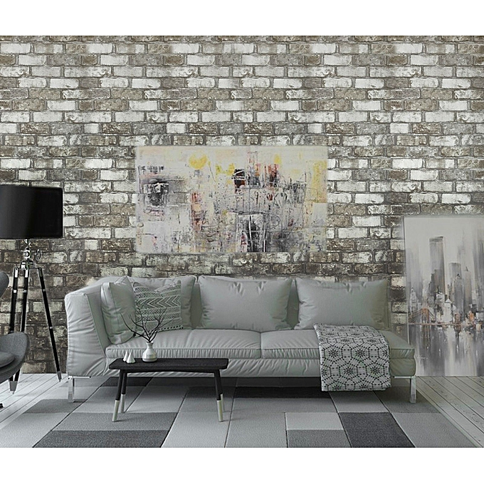 Buy Other Vinyl Wallpaper Wall Covering Textured Rolls Gray White