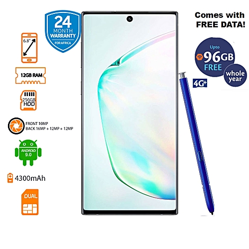 Buy Samsung Galaxy Note 10+ 4G Dual SIM 12GB RAM 256GB ROM