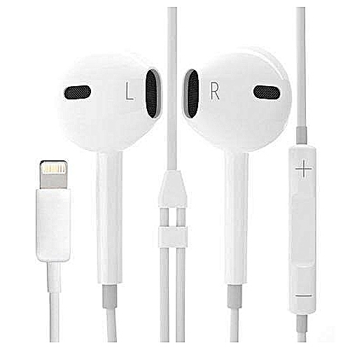 Buy Other Bluetooth IPhone7 Earphone Sports Earphones With Mic Earpod Light  Up Connector   Best Price Online - Jumia Tanzania 0024f7616462e