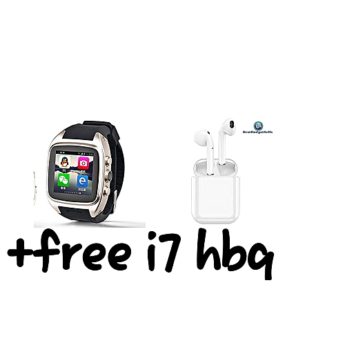 Best Smartwatch Zhihe Android 4 4 2 Smart Watch with 3g WCDMA Wifi GPS  Bluetooth Android Smartwatches +free i7 hbq
