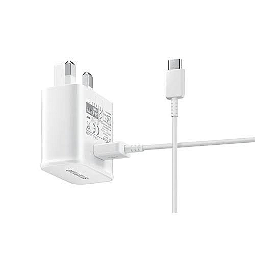 Samsung Galaxy S8 Adaptive Fast Charger and USB Type-C Cable White