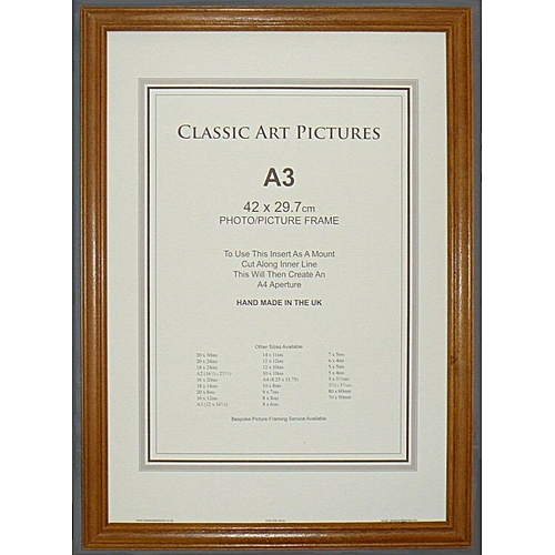 Buy White Label Classic Wood A3 Photo Frame @ Best Price Online ...