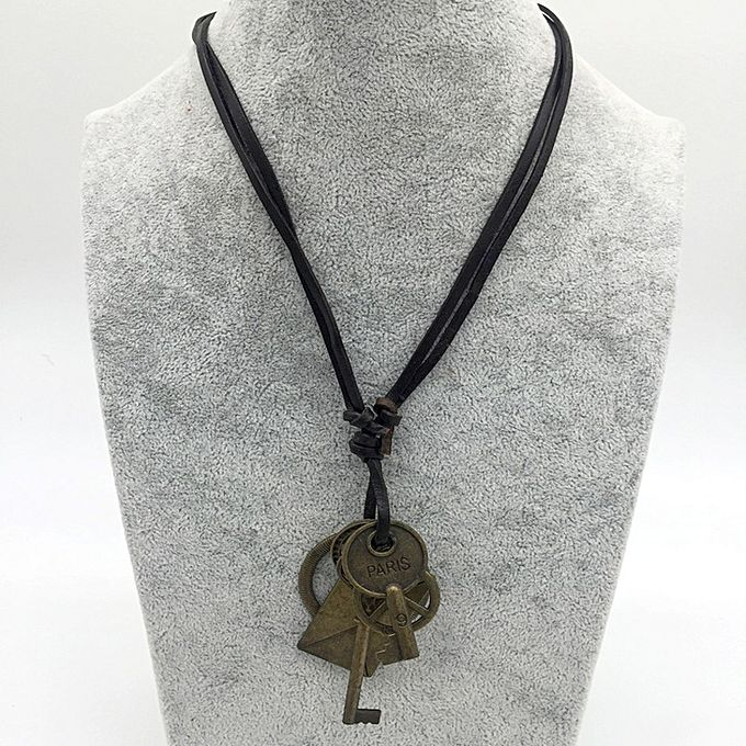 Buy mens vintage necklace with key pendant jumia tanzania mens vintage necklace with key pendant aloadofball Image collections