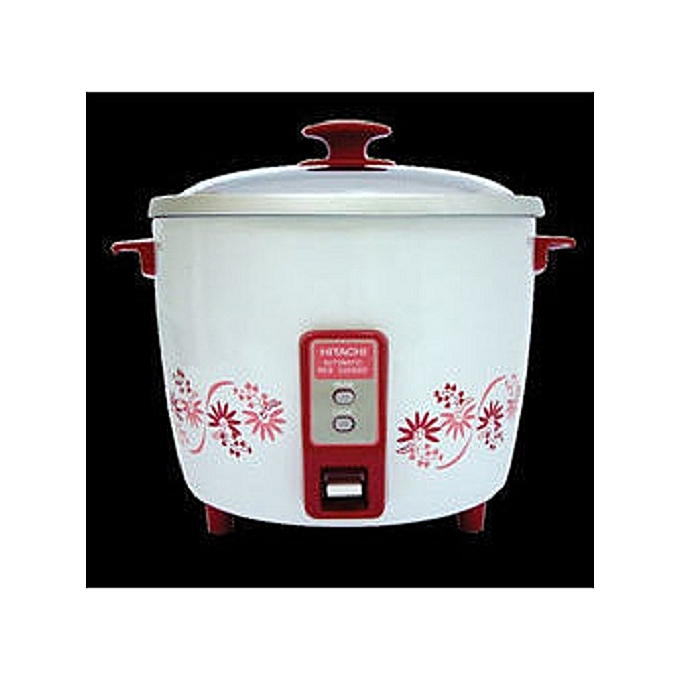 1b4c02ba384 Buy Hitachi RWT-A43Y Rice Cooker - 1.8LTR White Red   Best Price ...
