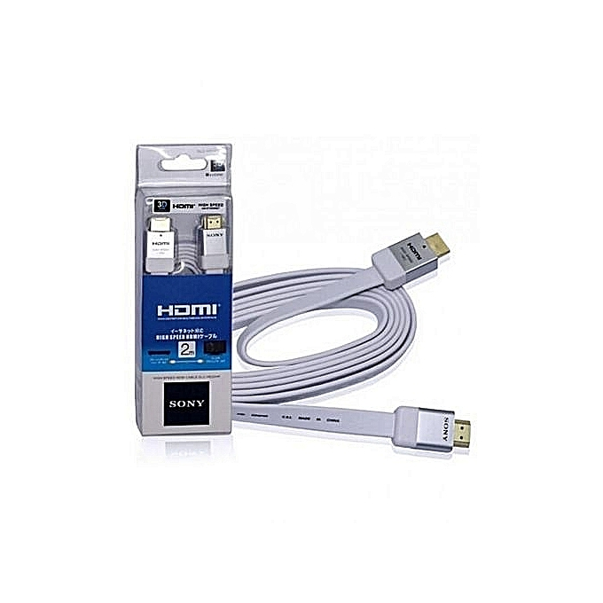 Sony High Speed Hdmi Cable 4k (2-meter)