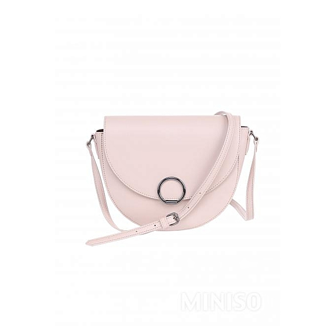 Buy Miniso Semicircle Crossbody Bag (Pink)   Best Price Online ... a63c466804