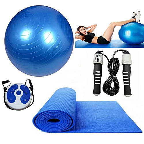 Buy Generic A Pack Of Gym Ball Yoga Mat Skipping Rope