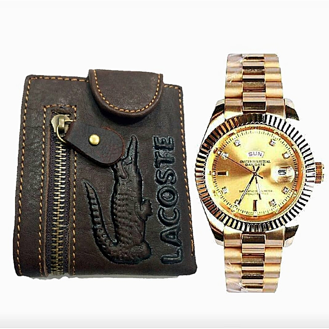 95bc99d2da Buy Generic Best Simple Fashion Watch And Leather Wallet   Best ...