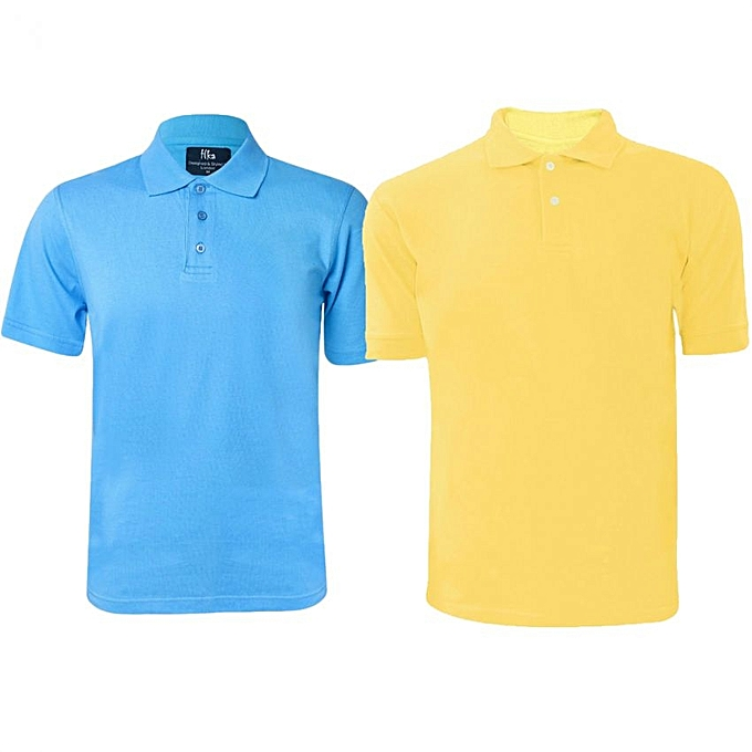 053e381d5 Buy SPORT 2 Pack Of Men's Polo T-Shirts - Multi-Color @ Best Price ...
