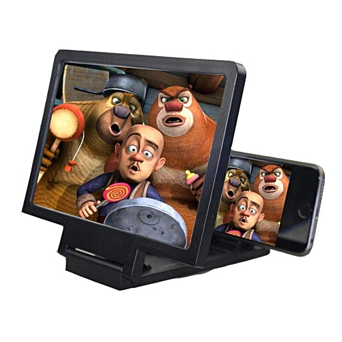Mobile Phone Screen Magnifier Display 3D Video Screen Amplifier