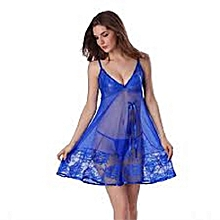 5804ce0882 ... buy online d67da 13c6c  Transparent Night Dress Lounge Wear - Blue  pretty nice 6cf2b e349b