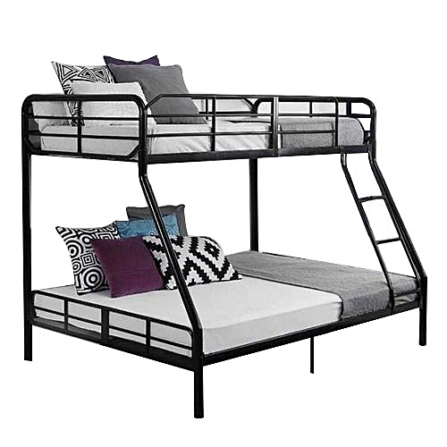 Buy White Label Double Decker Bed - Black @ Best Price Online ...