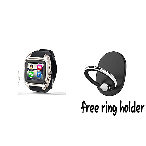 Best Smartwatch Zhihe Android 4 4 2 Smart Watch with 3g WCDMA Wifi GPS  Bluetooth Android Smartwatches +free phone ring
