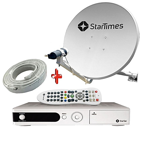 Buy Startimes Decoder With One Month Uhuru (63 Channels