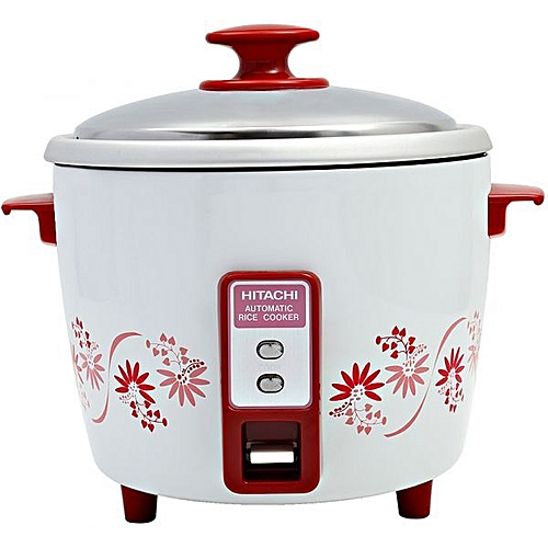 fe01a3d32b5 Buy Hitachi Hitachi RWT-N127I Rice Cooker - 1.8Ltr White  Red   Best Price  Online - Jumia Tanzania