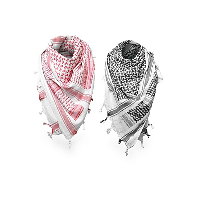 4c6802ed6 Two Fashion Muslim Hijab Shemagh Arab Scarves Men