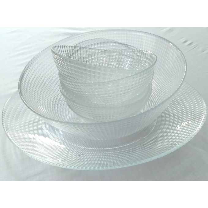 Buy Others Pack Of Glass Serving Dishes Best Price Online