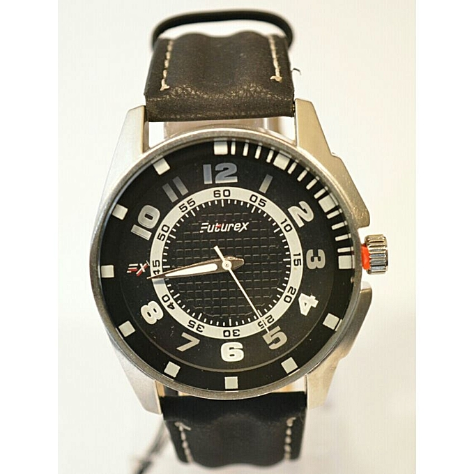 3c634ab996 Buy Generic Analog Casual Leather Watch - Black   Best Price Online ...