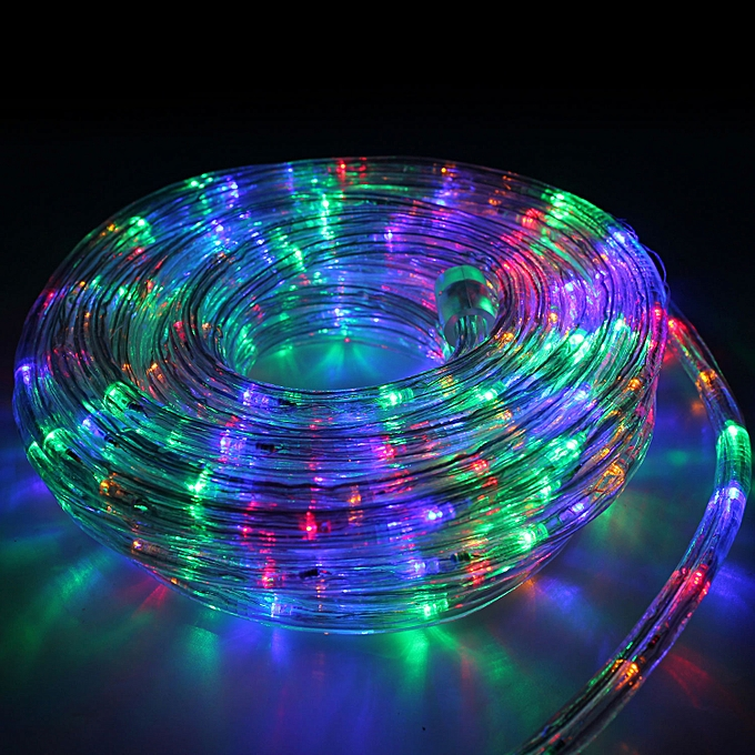 Buy 10m 360 led multi color rope lights 3 wire with 8 function buy 10m 360 led multi color rope lights 3 wire with 8 function controlle jumia tanzania aloadofball Gallery