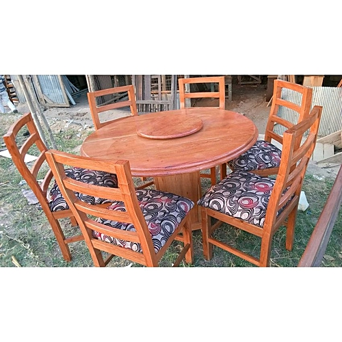 Buy Dining Room Table: Buy White Label Dining Room Table With 6 Chairs @ Best